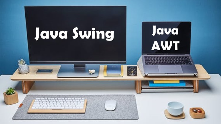 Introduction to Java Swing & AWT: GUI and Game Development