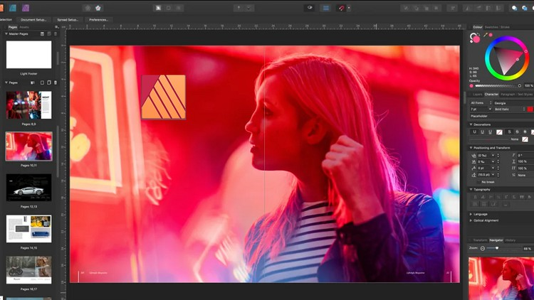 Affinity Publisher 2020 – The Complete Course for Beginners