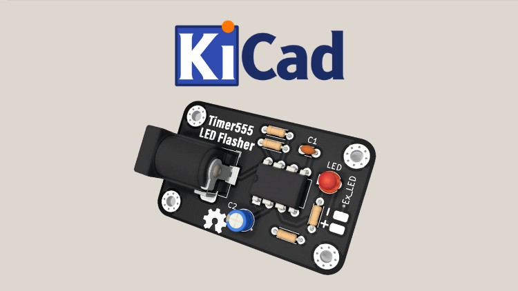 KiCAD PCB Design For Embedded Systems & Electronics Projects
