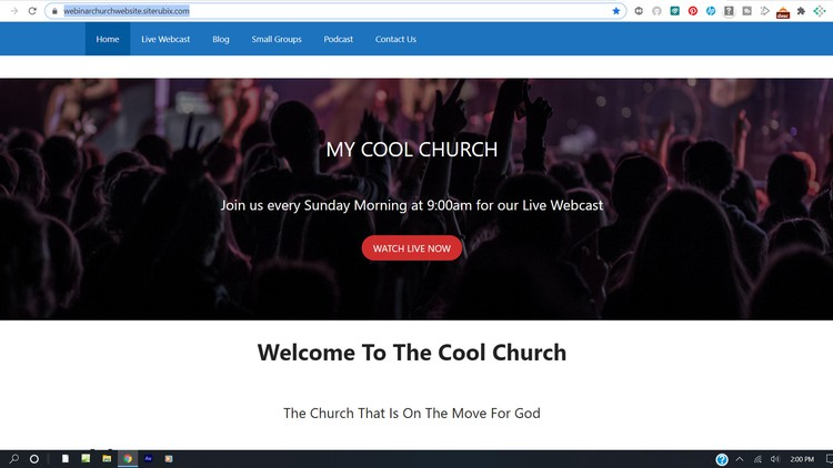 How To Build A Website For Your Church From Scratch For Free